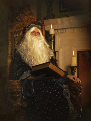Guests will need to help Wilbert the Wizard by finding ingredients for a magic potion.
