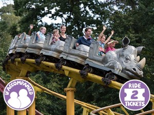 Rhino Rollercoaster (if accompanied)